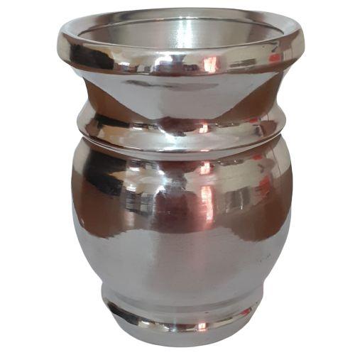 Cuia de Tereré de Alumínio Polido - 150 ML