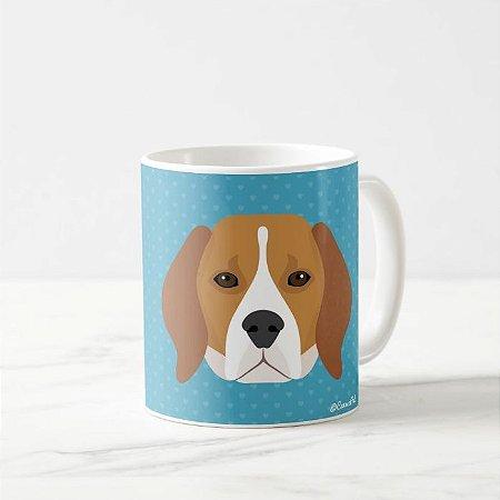 Caneca Pet de Beagle
