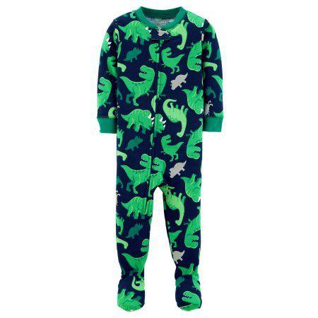 Pijama Macacão - Dinossauro - Carter's