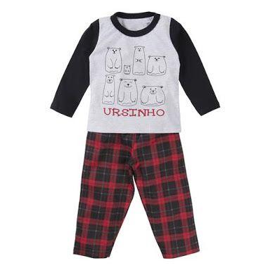 Pijama Ursinho - Gijo Kids