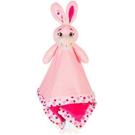 Naninha em Plush - Coelha Rosa - Sonho de Luz