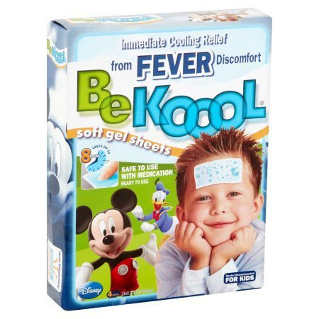 Adesivo BeKool - Gel para Alívio da Febre