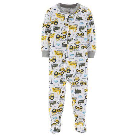 Pijama Macacão Trator - Menino - Carter's