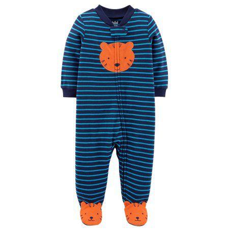 Pijama Macacão Tigre - Menino - Carter's