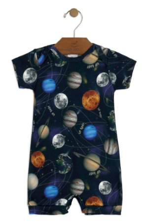 Macaquinho Romper - Sistema Solar - Up Baby