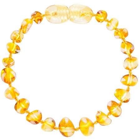 Bracelete de Âmbar - Honey - Bup baby