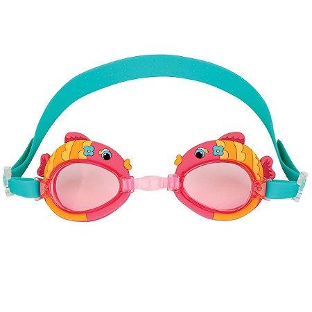 Óculos de Natação - Peixe Rosa - Stephen Joseph