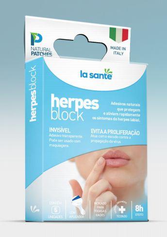 Adesivo Herpes Block - La Santé