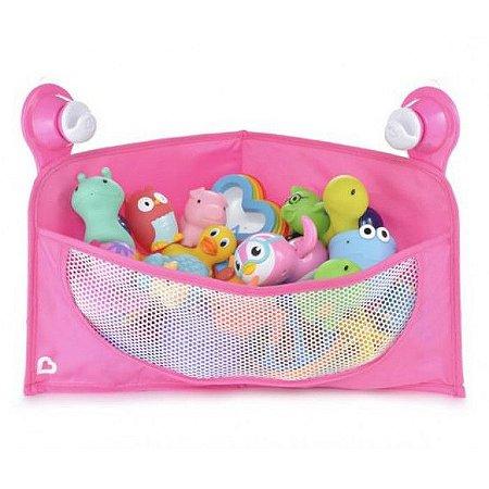 Cesta Organizadora para Brinquedos de Banho - Rosa - Munchkin