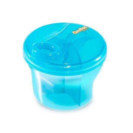 Dosador de Leite em Pó e Porta Biscoitos - Azul - COMTAC KIDS