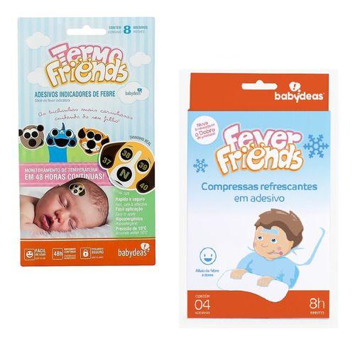 Kit Febre - 1 Termo Friends, 1 Fever Friends - Babydeas