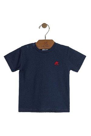 Camiseta Manga Curta - Menino - Marinho - Up Baby