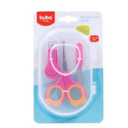 Kit Manicure Baby - Rosa - Buba