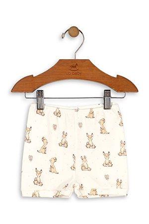 Shorts em Suedine - Canguru - Up Baby