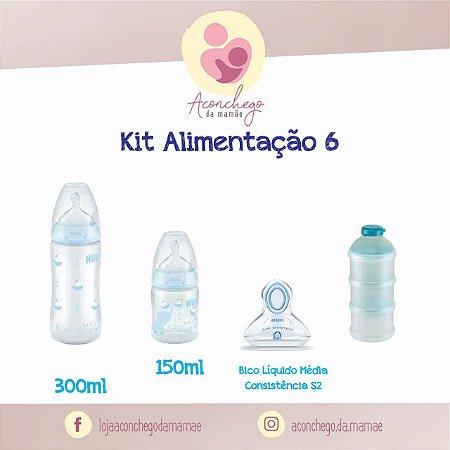 Kit Alimentação - NUK - Menino