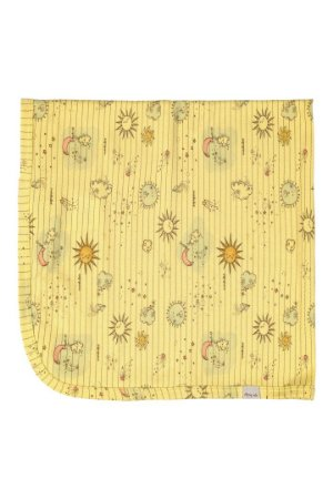 Manta em Suedine - Amarelo Sol - Up Baby