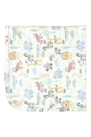Manta em Suedine - Animais Floresta - Up Baby