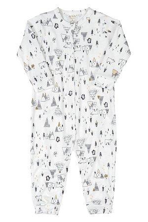 Macacão Manga Longa - Urso Polar - Up Baby