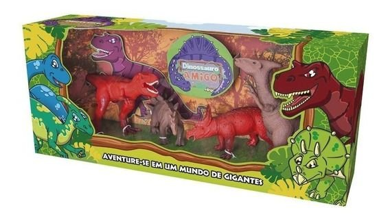 Dinossauro Amigo 4 Pecas - Super Toys - Cotiplás