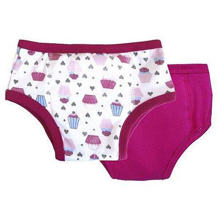 Kit Desfralde Diurno CUPCAKE Pink - Ecokids