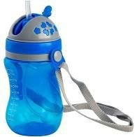 Copo com canudo válvula e alça removível - Azul - Clingo