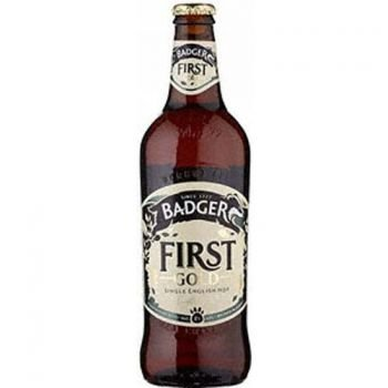 Cerveja Badger First Gold 500ml