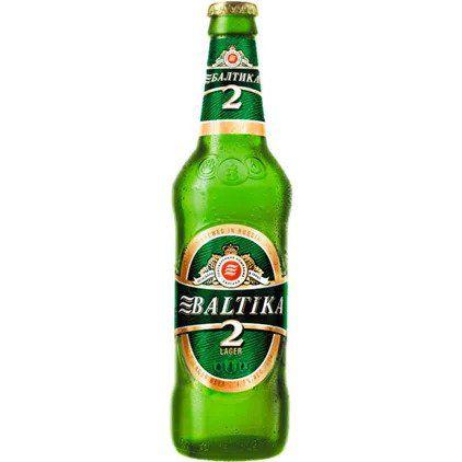 Cerveja Baltika 2 Lager 450ml