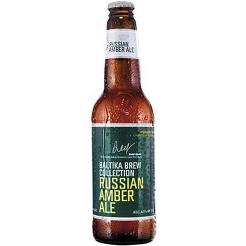Cerveja Baltika Russian Amber Ale 450ml