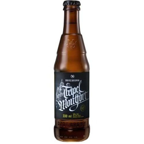 Cerveja Bodebrown Tripel Montfort 330ml