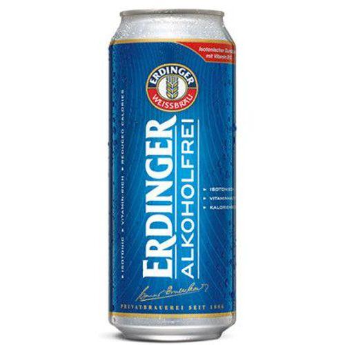 Cerveja Erdinger Sport Alkoholfrei Lata 500ml