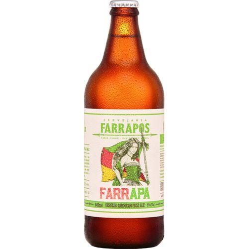 Cerveja Farrapos FarrAPA 1 Litro