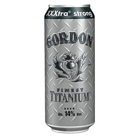Cerveja Gordon Finest Titanium Lata 500ml