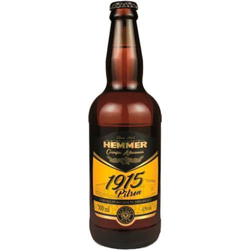 Cerveja Hemmer 1915 Pilsen 500ml