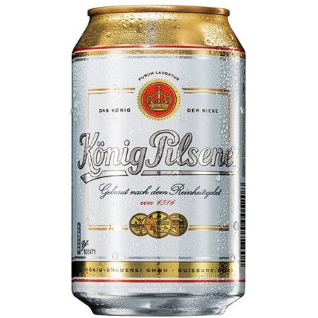 Cerveja Konig Pilsener Lata 330ml