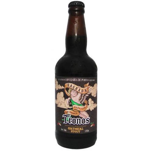 Cerveja Sagrada Tronos Stout 500ml