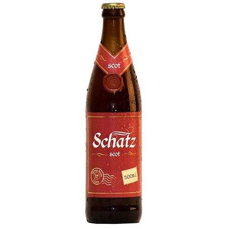 Cerveja Schatz Scottish Ale 500ml