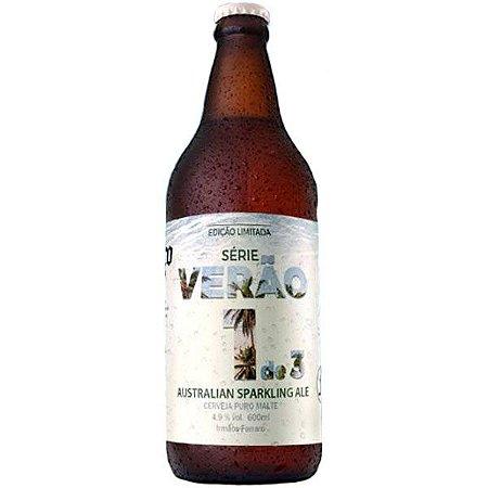 Cerveja Irmãos Ferraro Sparkling Ale 600ml