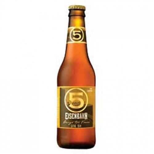 Cerveja Eisenbahn 5 anos 355ml