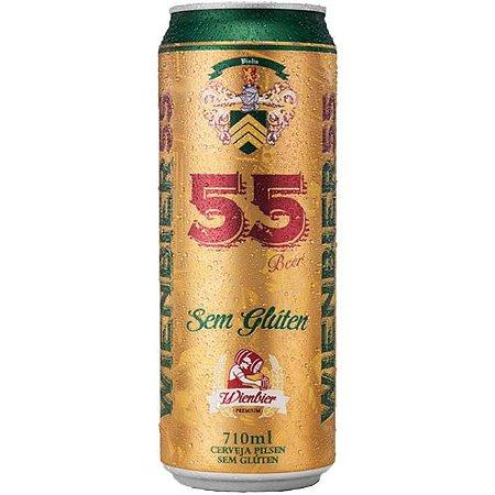 Cerveja 55 Wienbier Sem Glúten Lata 710ml