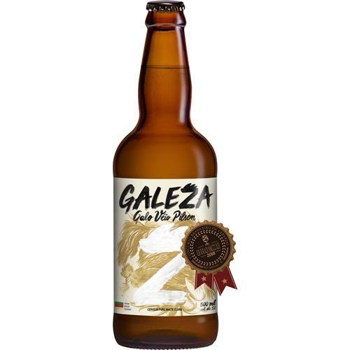 Cerveja Galeza Galo Veio Pilsen 500ml