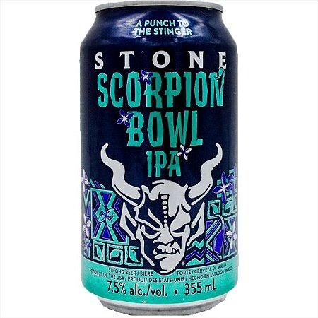 Cerveja Stone Scorpion Bowl IPA Lata 355ml