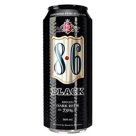 Cerveja 8.6 Black Lata 500ml