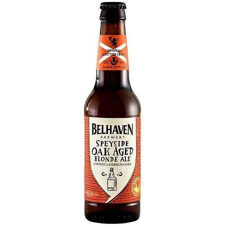Cerveja Belhaven Speyside Oak Aged Blond Ale 330ml