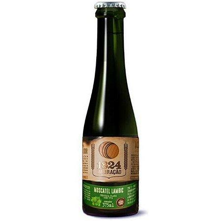 Cerveja 1824 Imigração Sour Moscatel Lambic 375ml