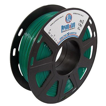 Filamento PETG Translúcido Verde