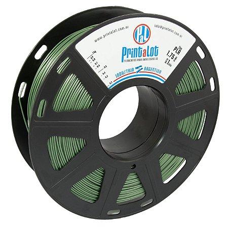 Filamento PLA Metalizado Verde Militar