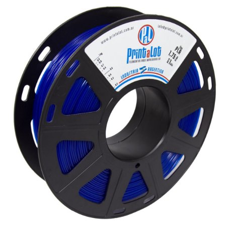 Filamento PLA Translúcido Azul