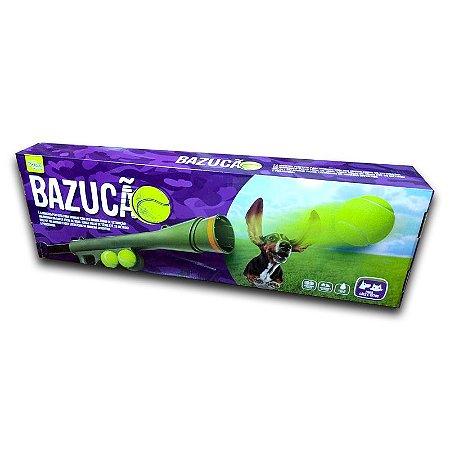 Arremessador de Bolas Bazucão - acompanha 2 bolas