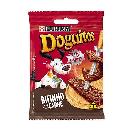 Petisco Nestlé Purina Doguitos Bifinho de Carne 65g
