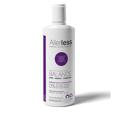 Shampoo e Condicionador Dermatológico Allerless Balance 240 ml Cães e Gatos